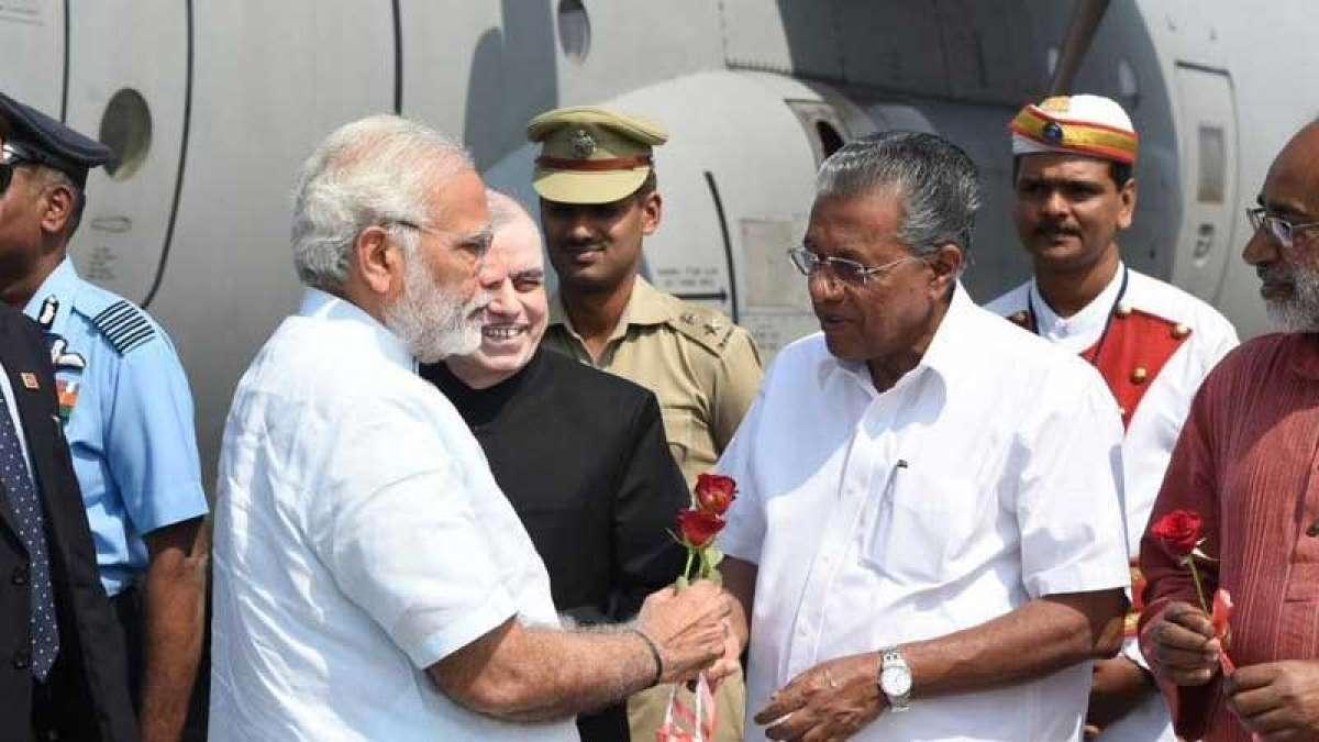 PM Modi in Kerala to visit Ockhi-hit villages