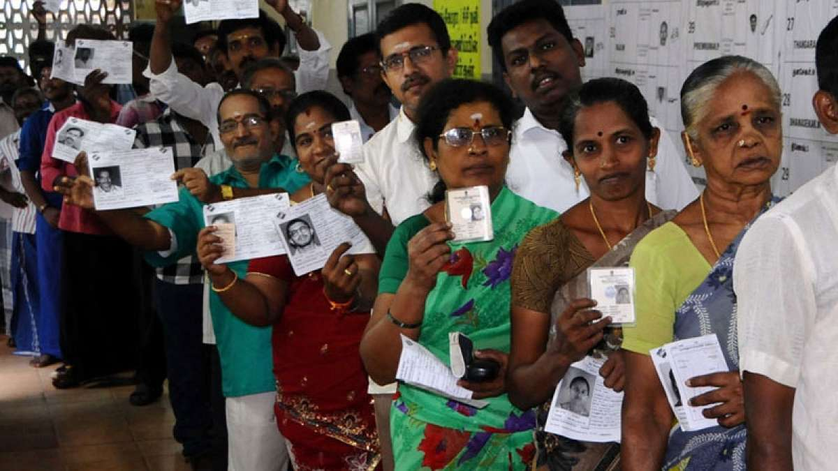 Over 60 per cent people vote in RK Nagar bypolls