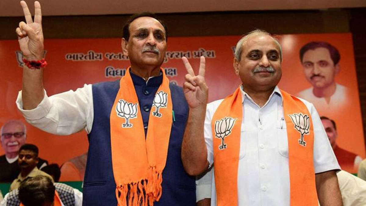 Rupani, Patel likely to continue as Gujarat CM, Deputy CM