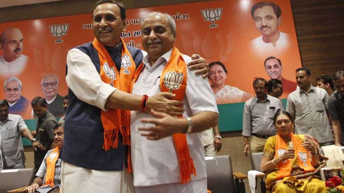 Vijay Rupani remains Gujarat Chief Minister, Nitin Patel his deputy