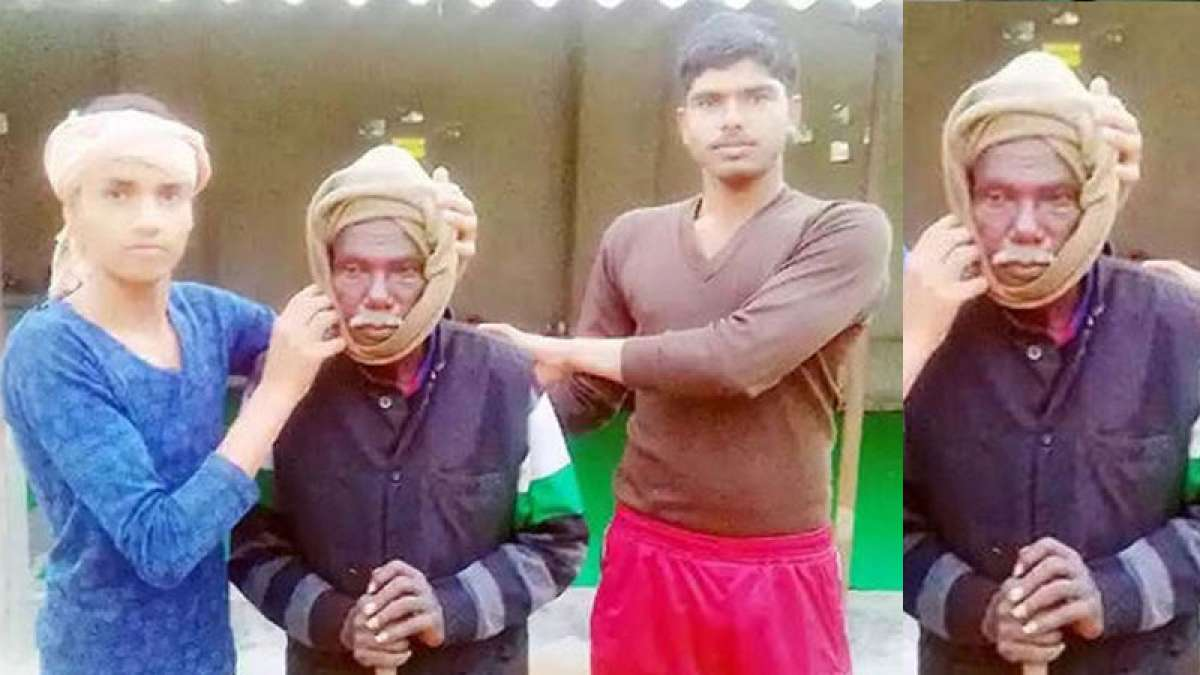 This beggar found in Rae Bareli is a crorepati from Tamil Nadu