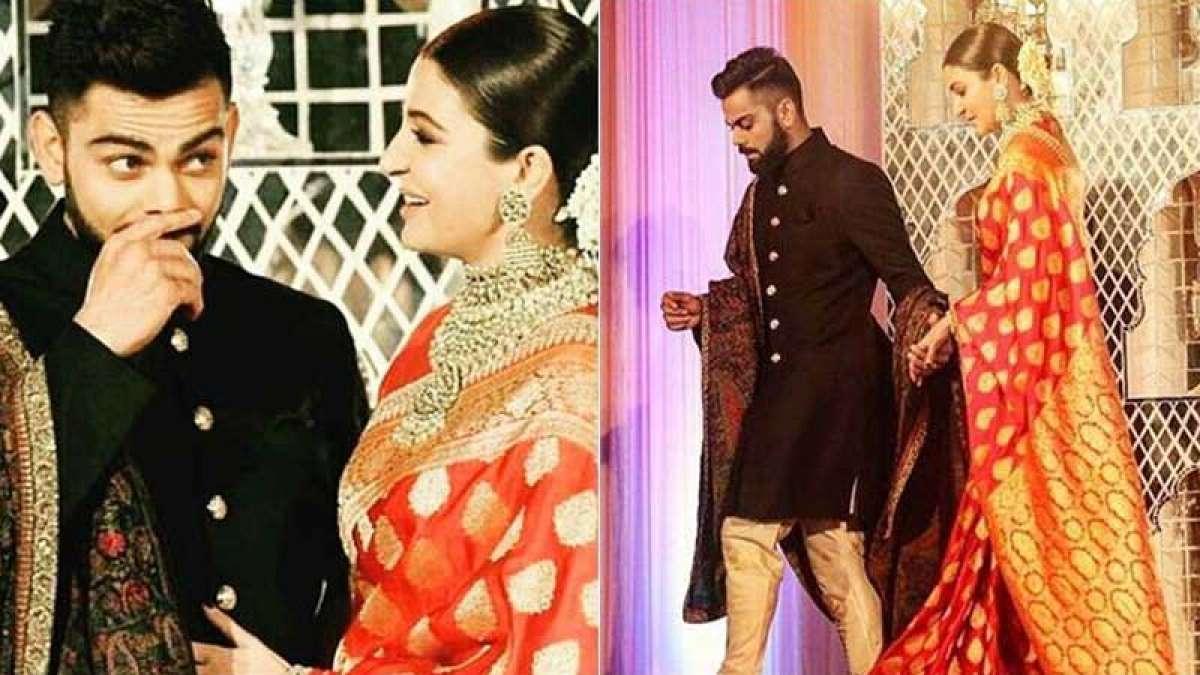 Virat Kohli, Anushka Sharma dance their heart off at Delhi wedding reception