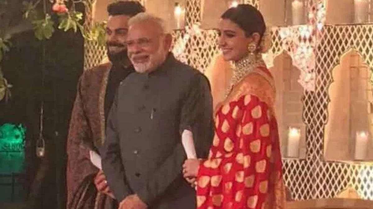 Modi, Jaitley attend Virat-Anushka's reception in Delhi