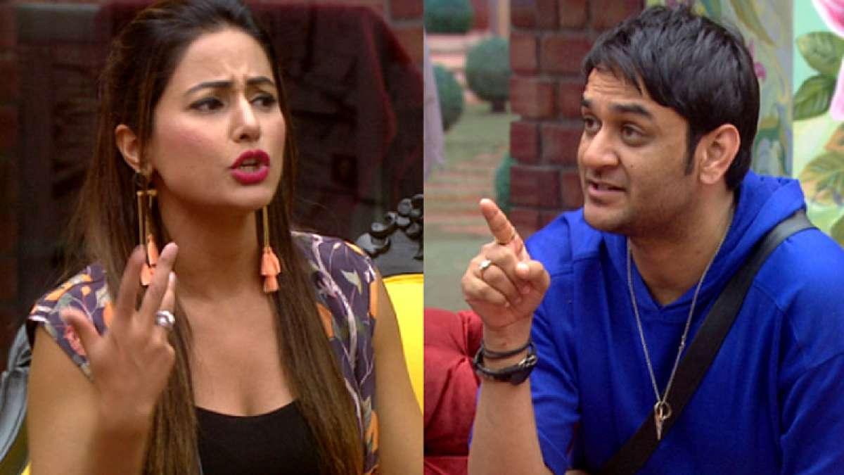 Bigg Boss 11: Hina Khan and Vikas Gupta get into an ugly brawl