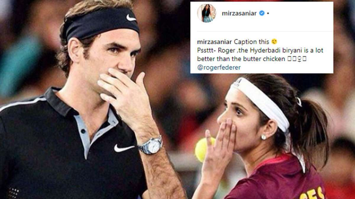 Sania Mirza asks fans to caption her image, post goes viral