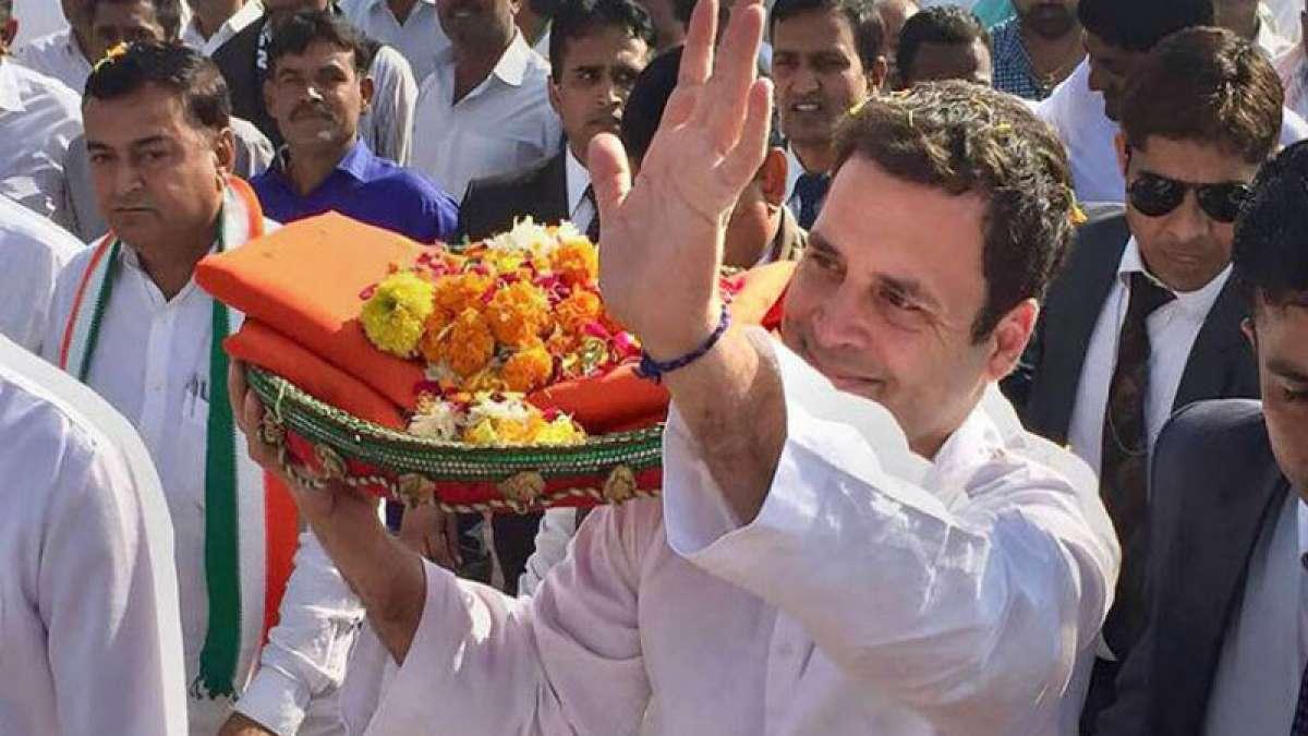 Congress will win 135 seats in next Gujarat Elections: Rahul Gandhi