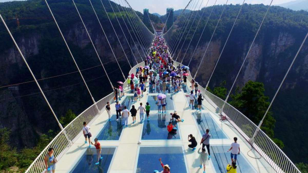 World's longest glass bridge in China opens for public: All you need to know