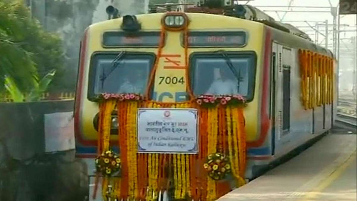 India gets first AC local train: History of Mumbai's lifeline