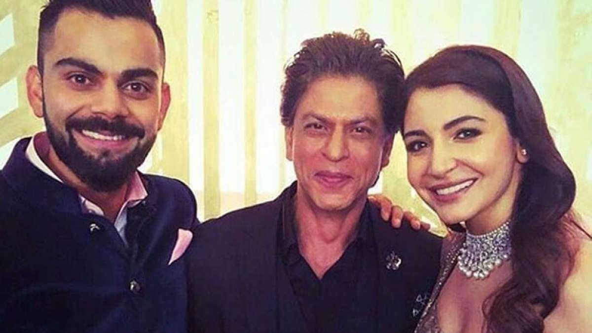 Virat-Anushka reception: Shah Rukh Khan dancing on Chaiyya Chaiyya is a must watch