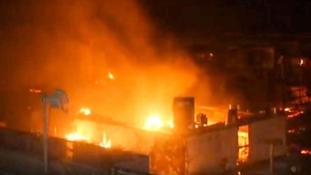 15 dead as fire breaks out at Kamla Mills in Mumbai