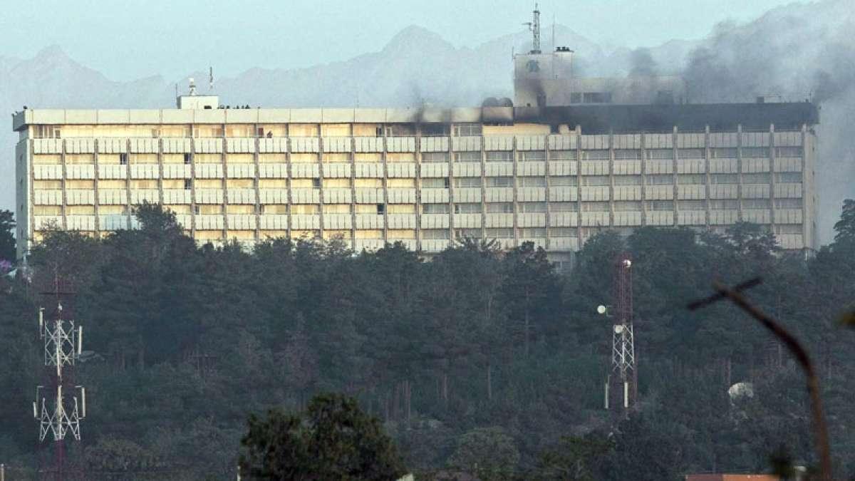 Four gunmen attack Intercontinental Hotel in Kabul, several injured