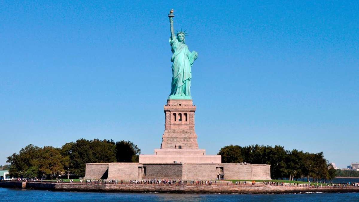 US tourism site Statue Of Liberty