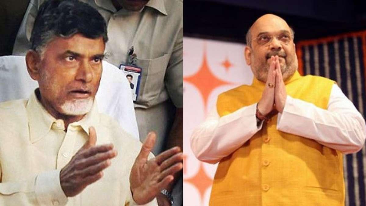 Amit Shah calls Chandrababu Naidu, asks him not to take 'tough decisions'