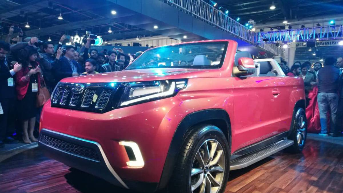 Auto Expo 2018: Mahindra unveils Stinger, wide range of e-vehicle concepts