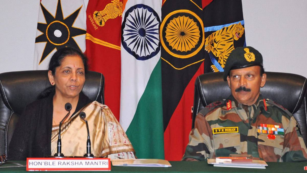 Modi government will stand by Indian Army, says Nirmala Sitharaman