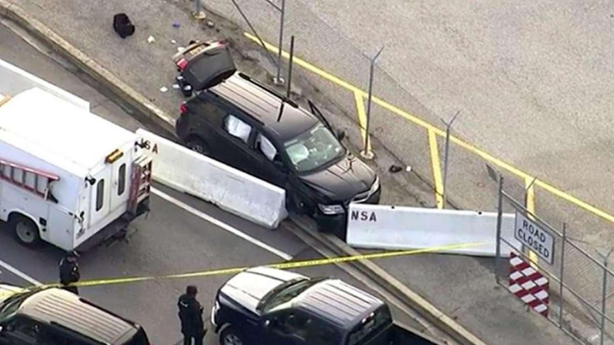 Shooting outside US' NSA headquarters, 3 injured