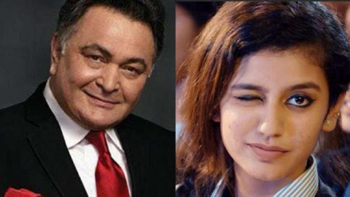 Rishi Kapoor predicts 'huge stardom' for Priya Varrier
