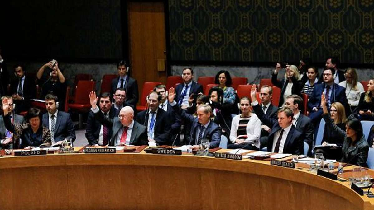 UNSC unanimously votes resolution ordering ceasefire in Syria