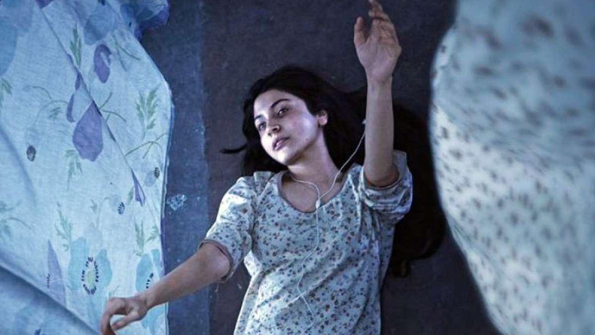 Anushka Sharma in 'Pari' movie poster