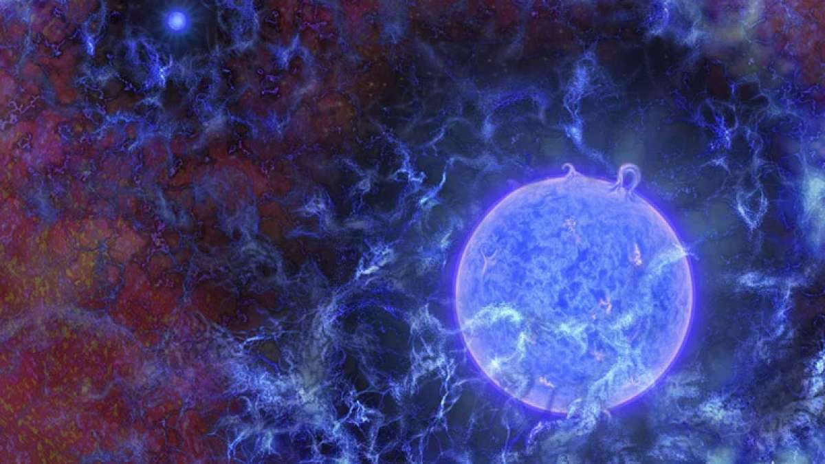 Astronomers detect signal from universe's first stars