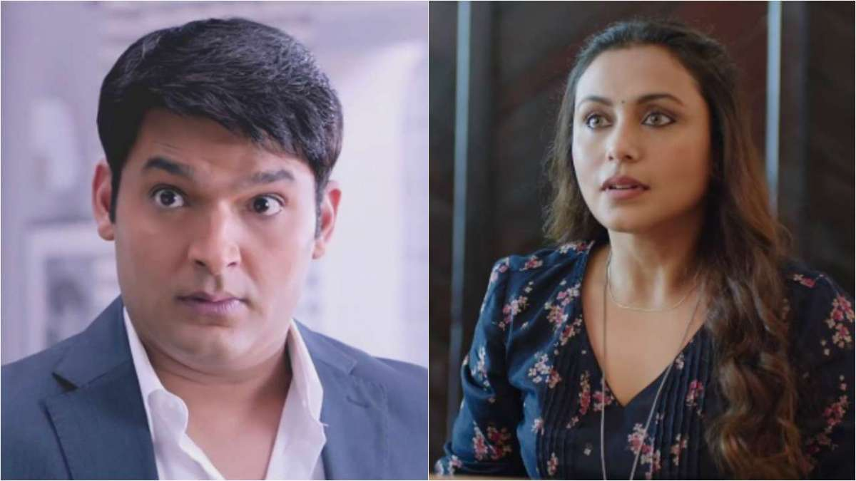 Comedian-turned-actor Kapil Sharma and Bollywood Actress Rani Mukerji