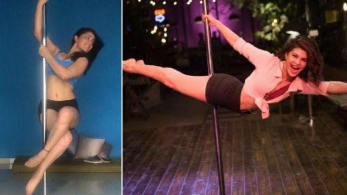 Yami Gautam and Jacqueline Fernandez in Pole Dancing Steps