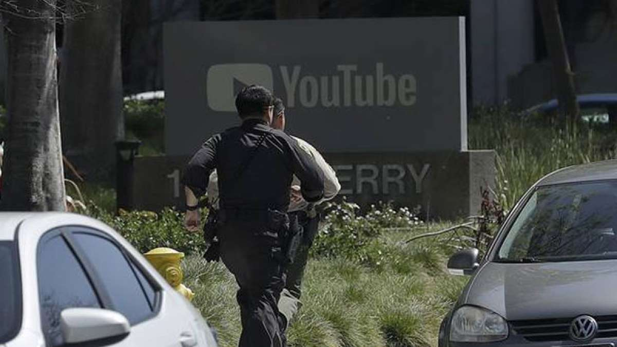 YouTube headquartres under attack; 1 killed, four injured