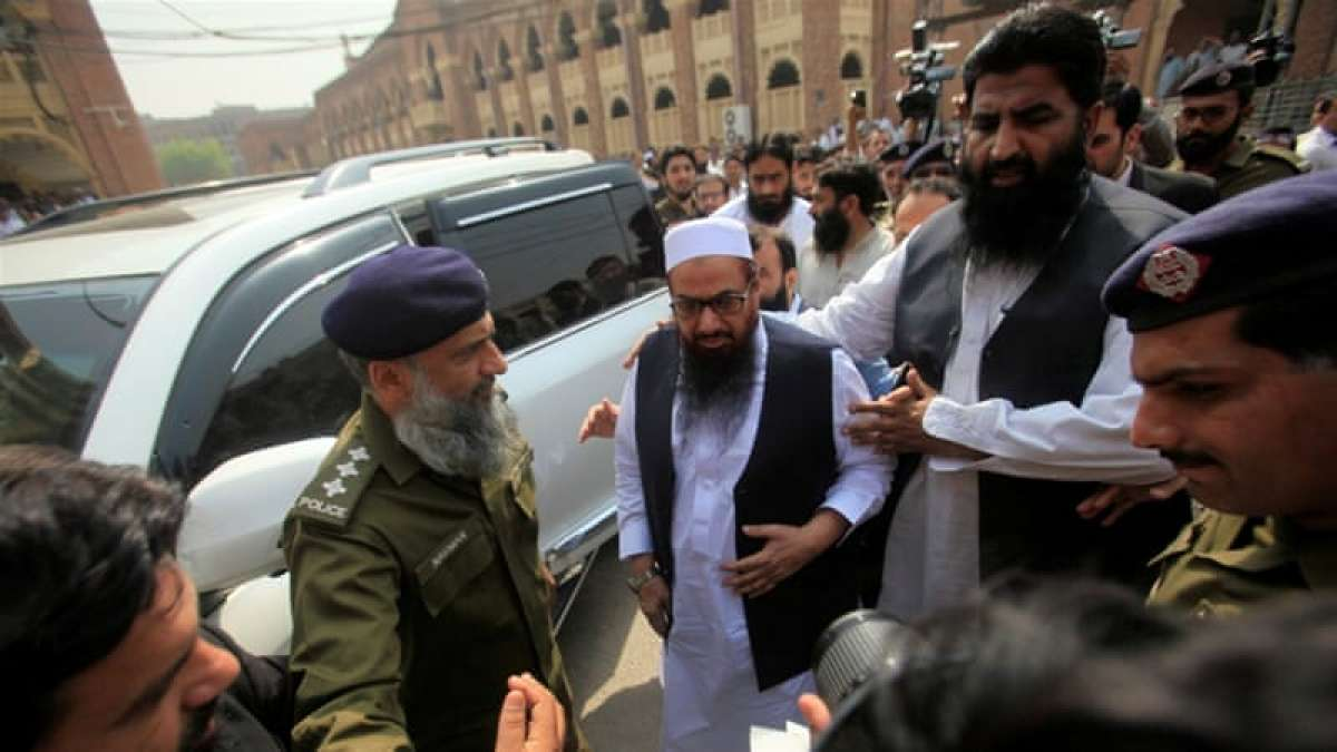 Hafiz Saeed has been declared a global terrorist by the UN, US and India due to his involvement in the 2008 Mumbai attacks