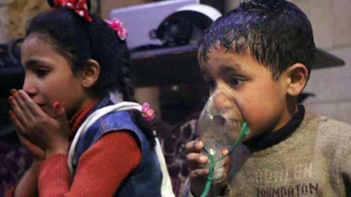 70 killed in suspected Syria chemical attack