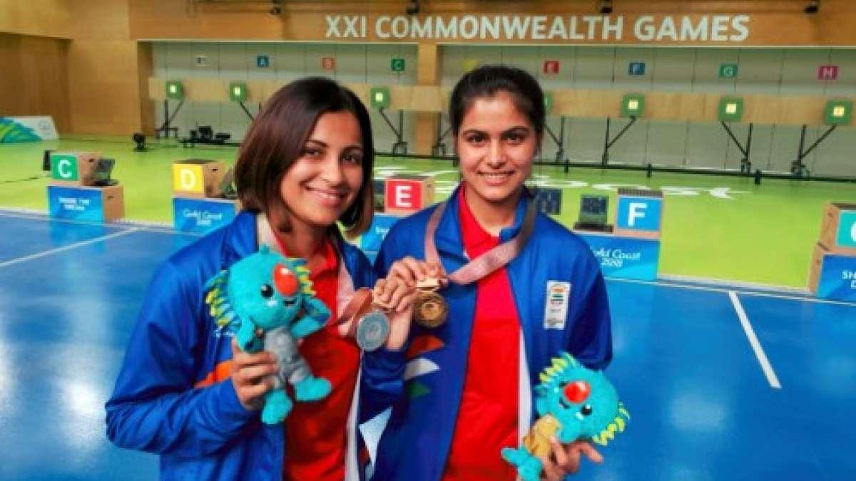 CWG 2018: India bag 6 medals; Gold each from women's TT team, shooter Bhaker & lifter Punam