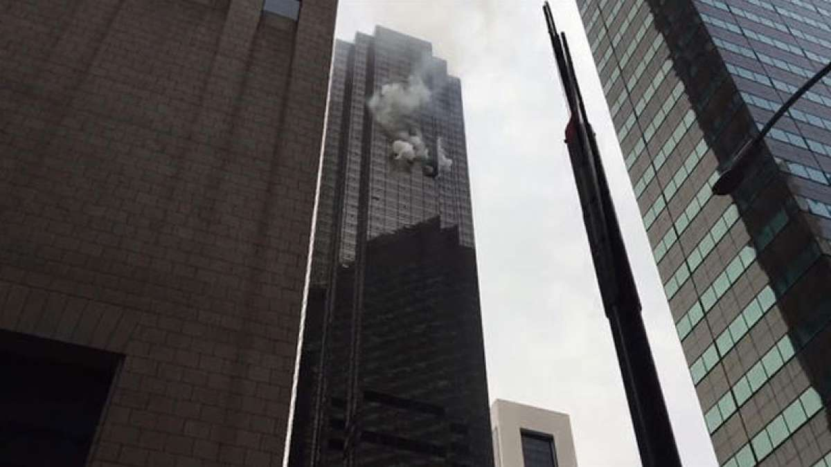 One dead, six injured as fire breaks out at Trump Tower