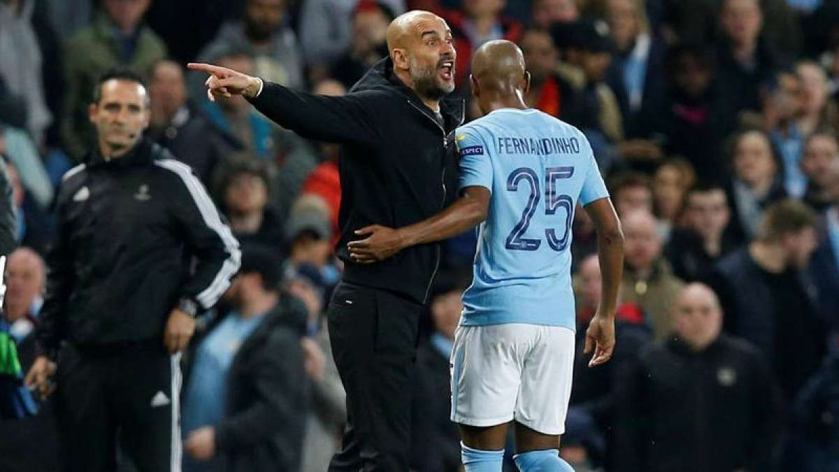 UEFA charges Man City coach with improper conduct