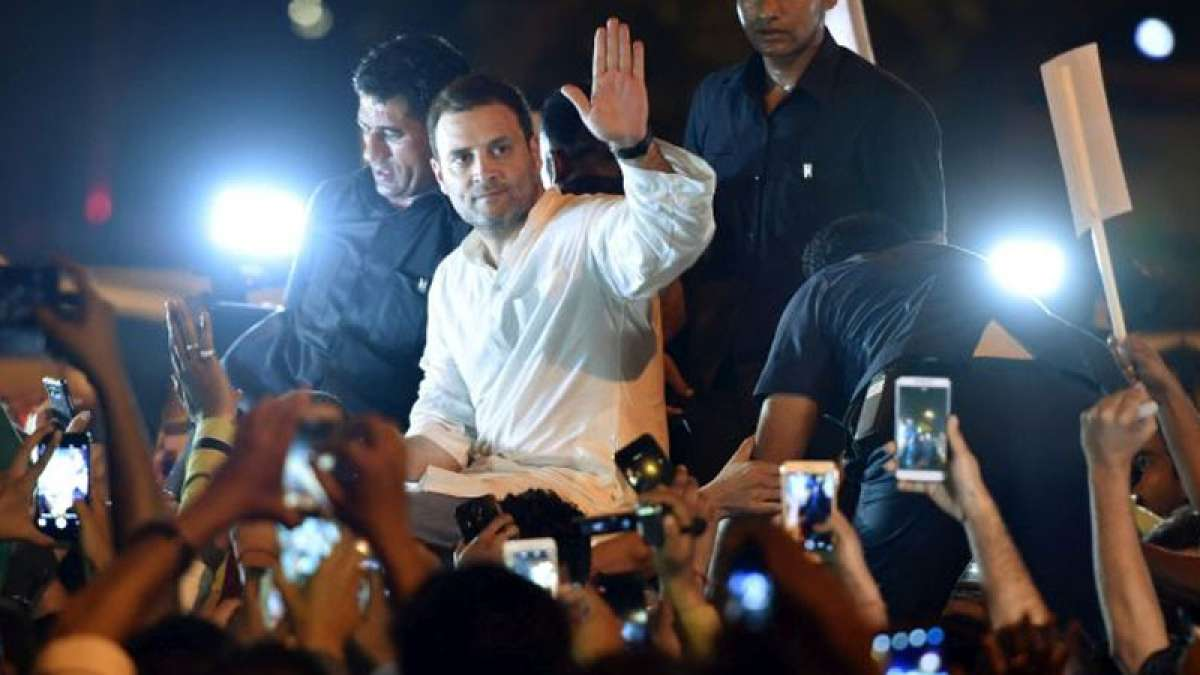 Kathua, Unnao rape cases: Rahul leads midnight protest at India Gate