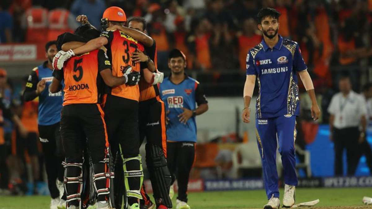 IPL 2018: Hyderabad edge-past Mumbai Indians