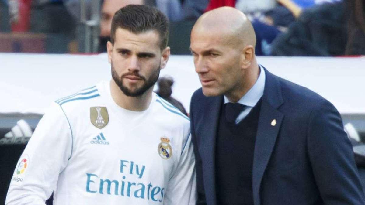 Real Madrid coach Zidane says Nacho is improving