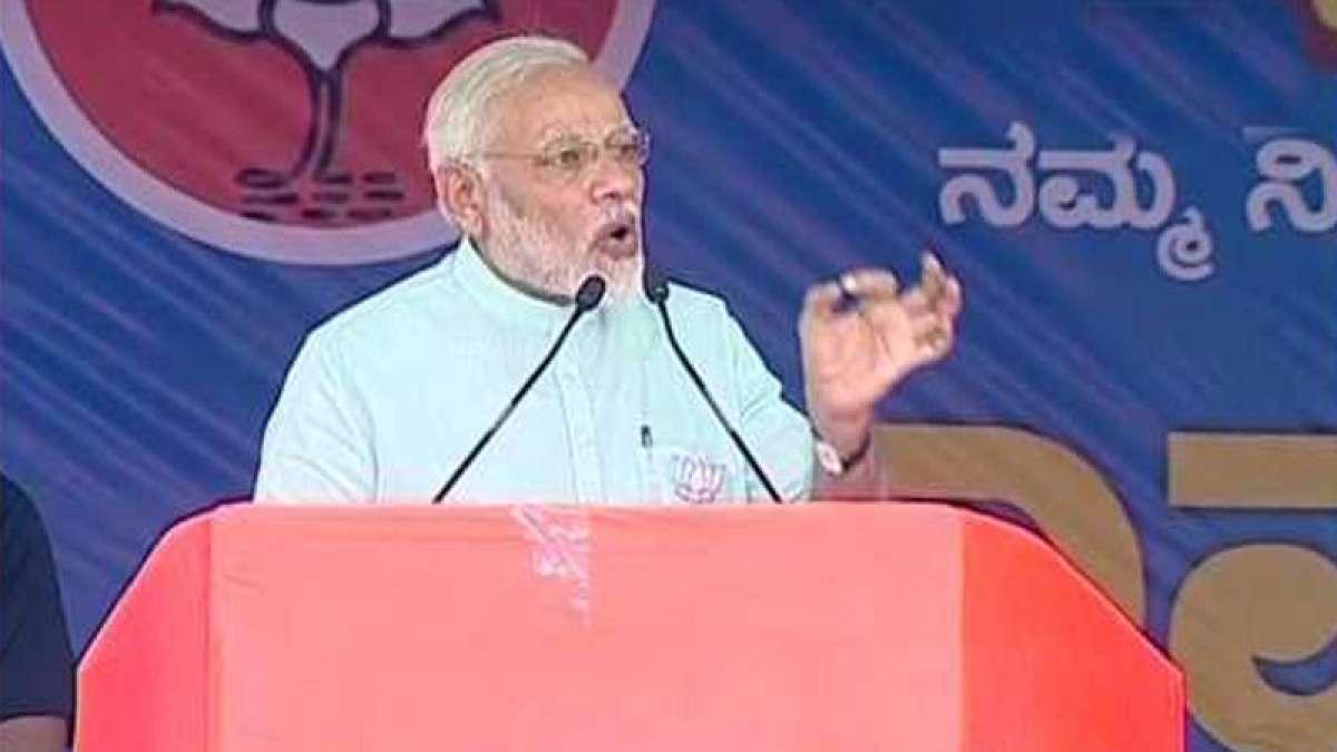 Pro-BJP storm in Karnataka, says Narendra Modi