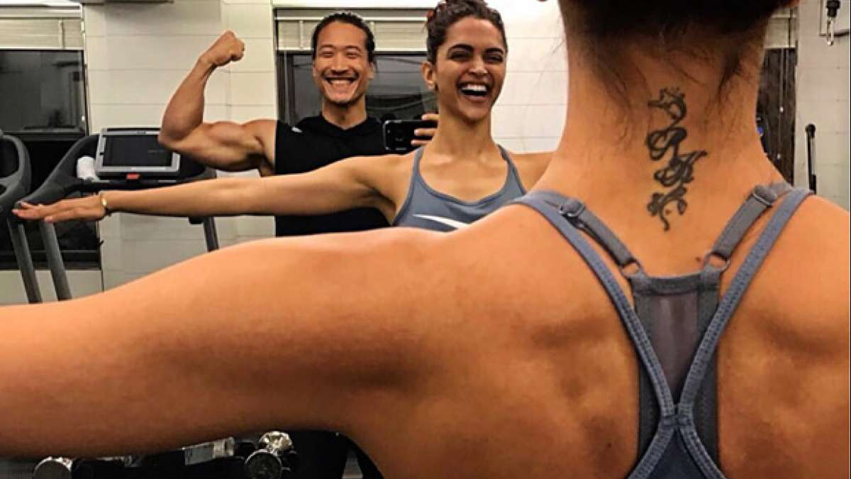 Deepika Padukone's RK tattoo is now unrecognisable, see pics