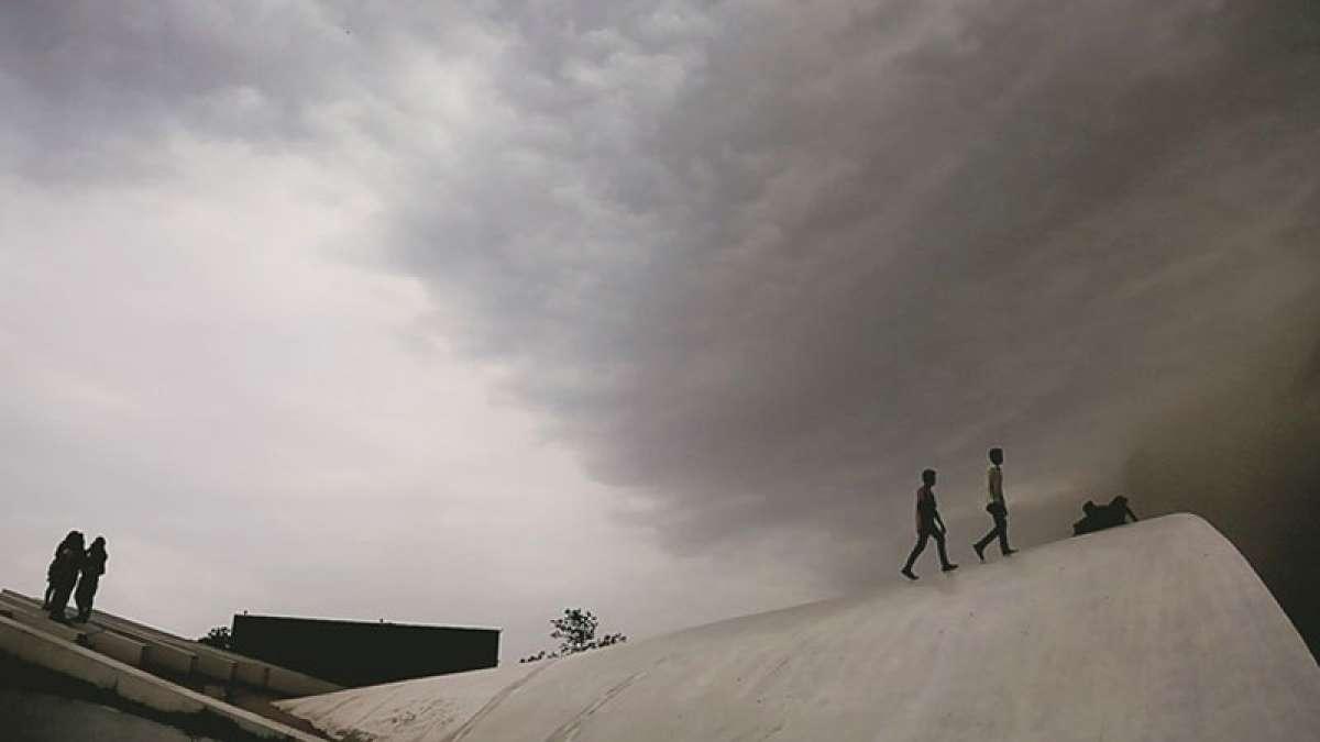 Thunderstorm hit Punjab, Haryana, maximum temperatures dip
