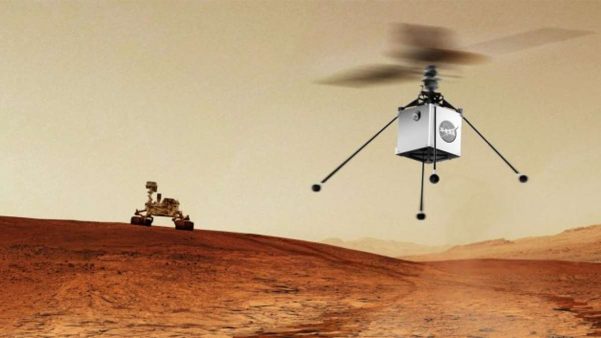 NASA will fly remote-controlled helicopter to Mars