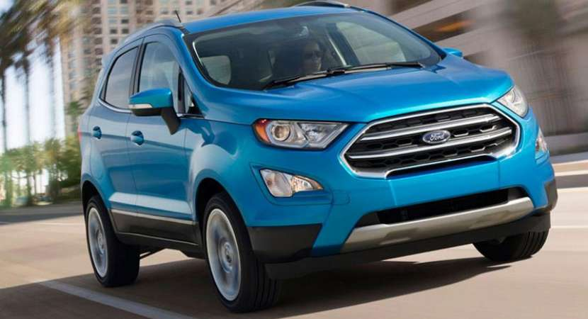 Ford Ecosport Signature Edition Arrives In India At Rs 10 4 Lakh