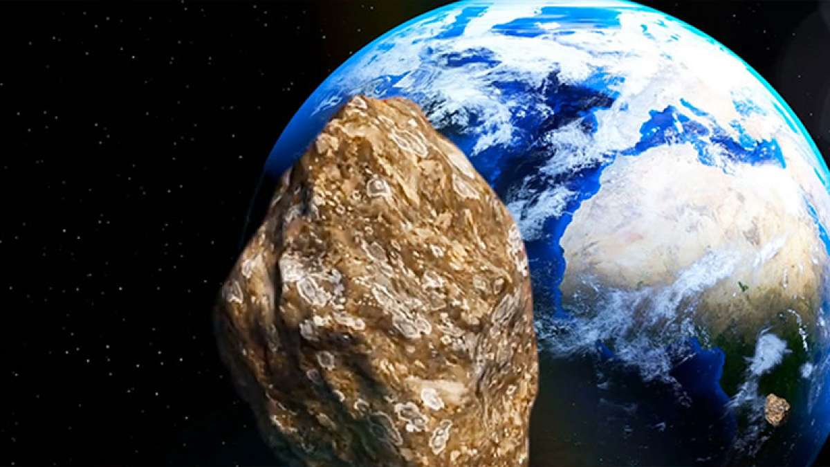 A city-size Asteroid gives Earth a close shave