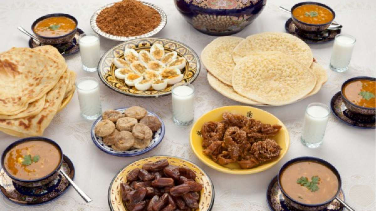 Mouth watering dishes for iftar