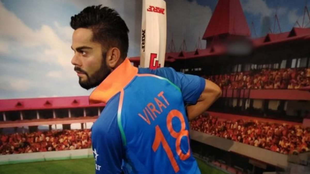 Kohli's wax figure has been crafted from over 200 measurements and photographs taken during the sitting session.