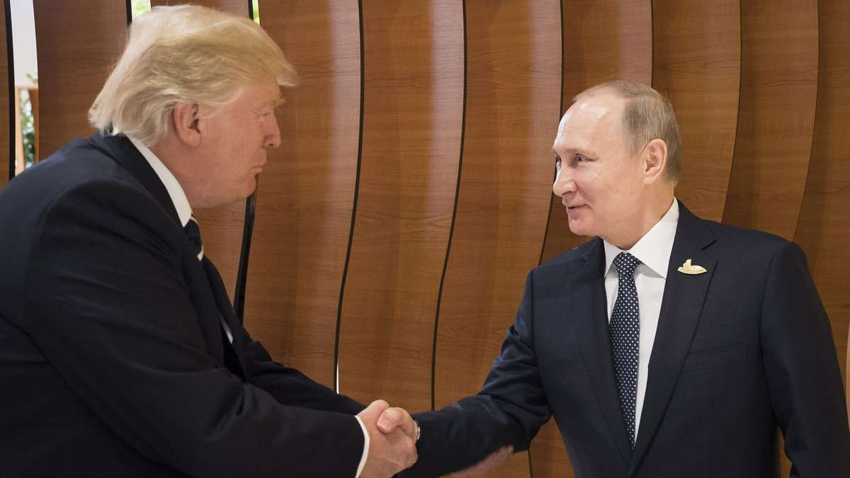 NATO chief welcomes Donald Trump and Putin meeting