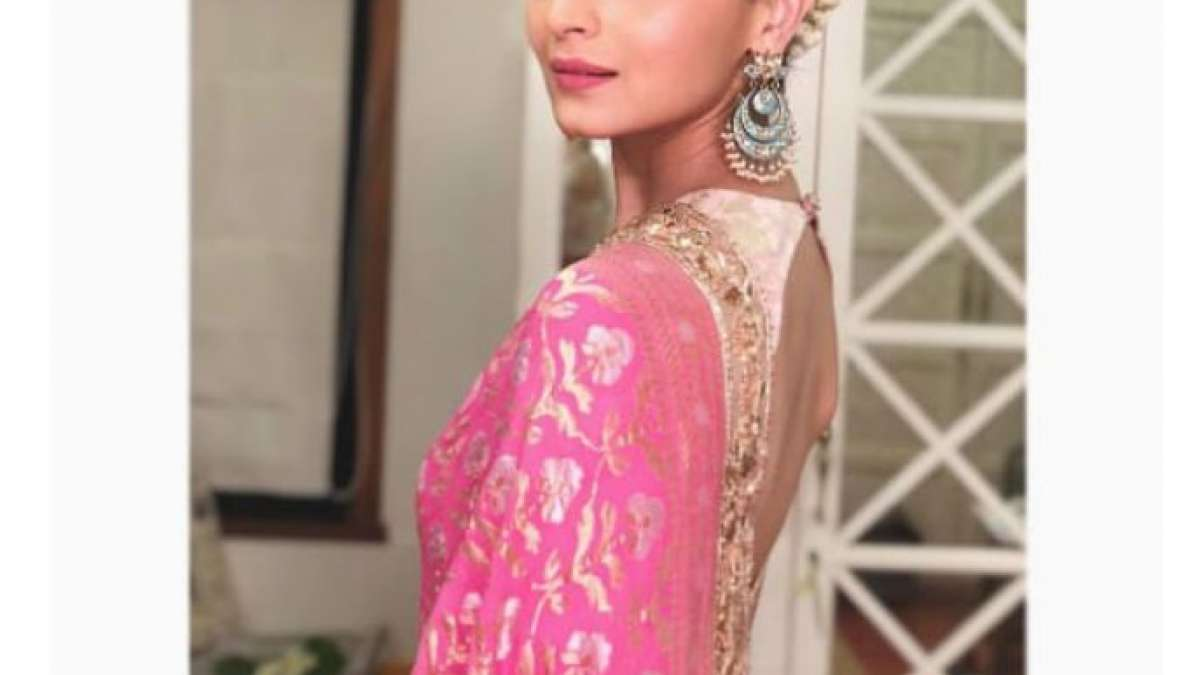 Alia Bhatt shares a picture of herself which gets over 12 lakh 'likes' in a little over half a day.