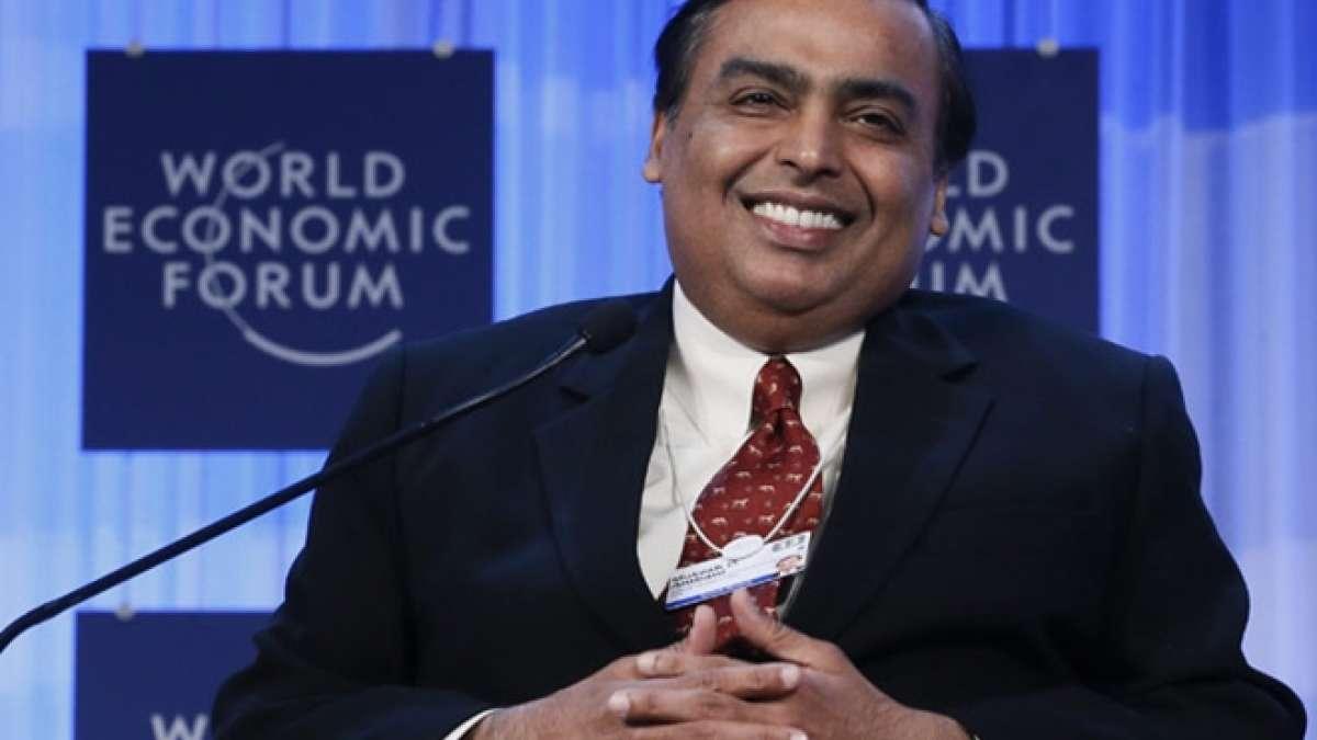 Mukesh Ambani, the chariman of Reliance Industries