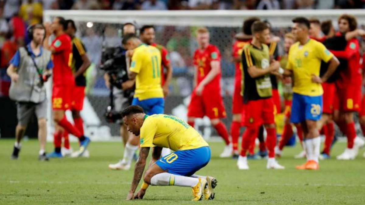Brazil knocked out as Belgium makes it to FIFA World Cup Semis