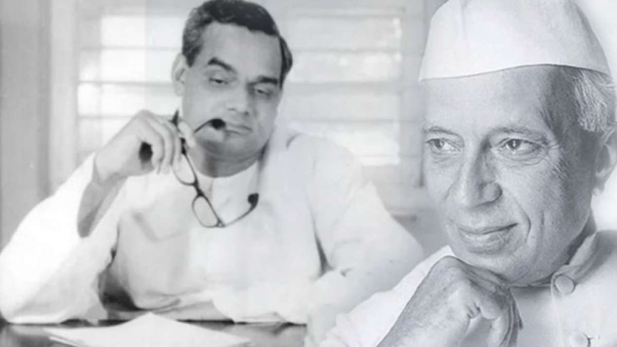 When Pandit Nehru predicted Atal Bihari Vajpayee's future