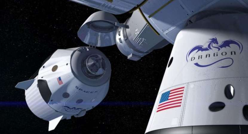 NASA announces date for first SpaceX mission with astronauts