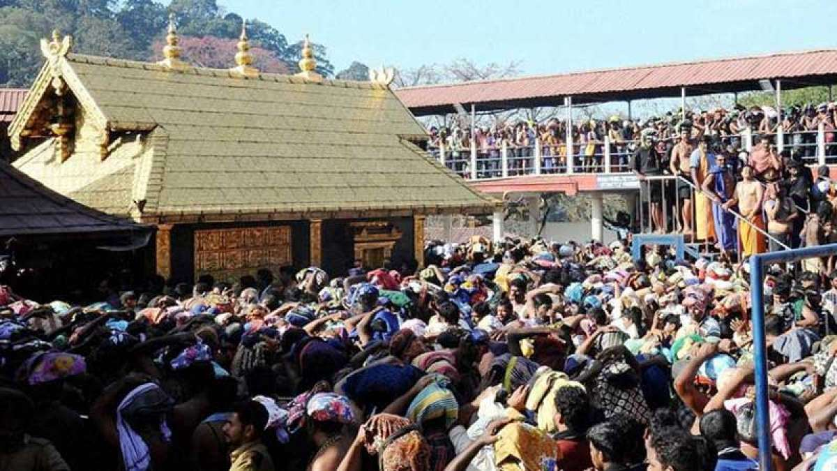 Police security intensifies at Sabarimala Temple, gates to open on November 5
